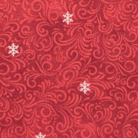 Snowflake Swirls<br />red