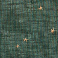 Gold Stars<br />dark green