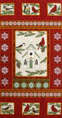 Church (red, green or cream background)