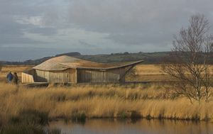 New hide/shelter at Cors Caron