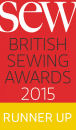 Sew Magazine Silver Award Winner