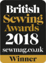 Winner, British Sewing Awards 2018